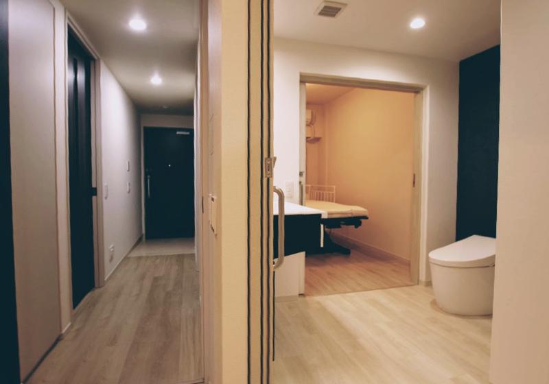 洗面室に「回遊性」を持たせるマンションリフォーム