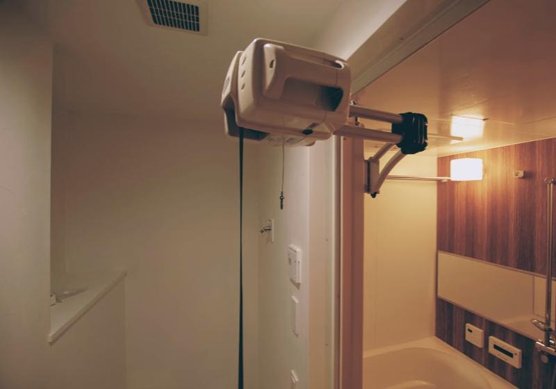 洗面室に「回遊性」を持たせるマンションリフォーム(3)浴室