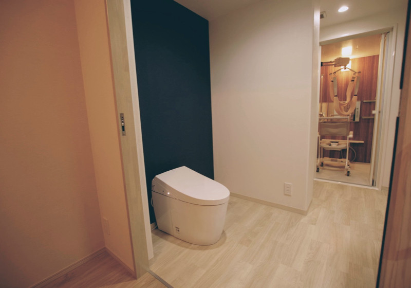洗面室に「回遊性」を持たせるマンションリフォーム(2)トイレ