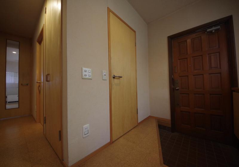 オオタキさんの家の玄関の風景