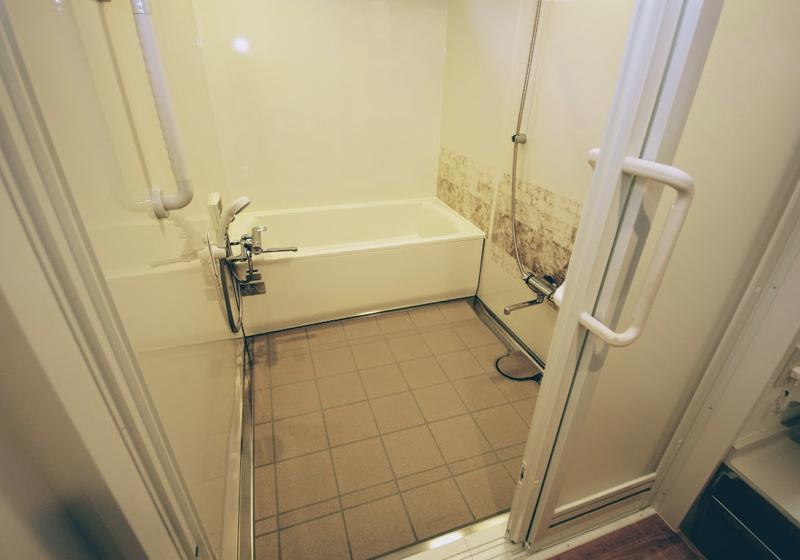 ユニットパスの選定は、必要な洗い場の大きさを考慮する