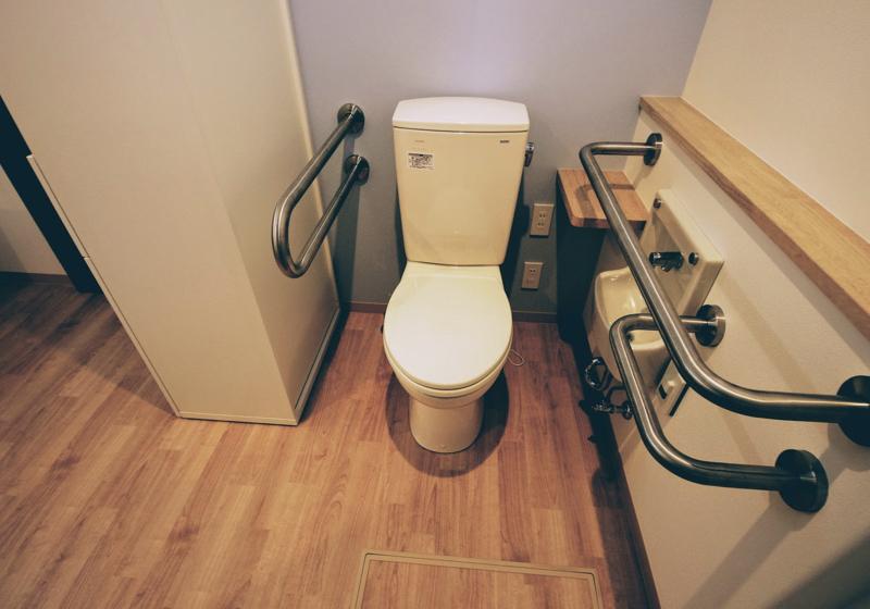 トイレこそ、個別対応のバリアフリーを大切したい場所