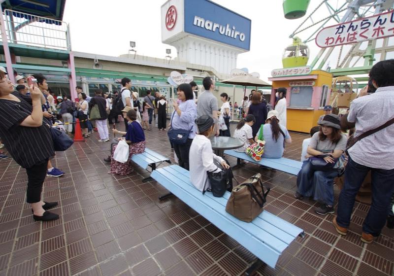 51年の間、お疲れさまでした、関東唯一の屋上観覧車(丸広川越店)
