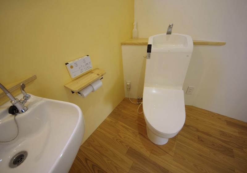 機能だけではなく、遊び心を持たせた、バリアフリーなトイレ