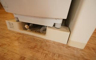 水栓つき洗濯機用防水パン