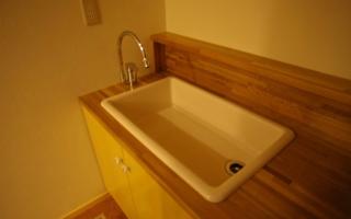 洗面器ではない洗面器を使う