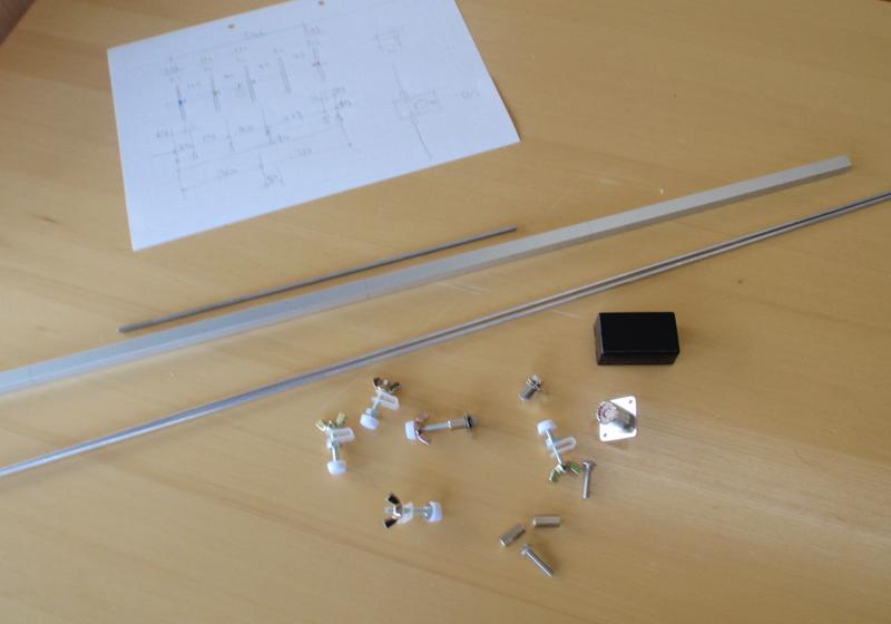 430MHzの5ele八木アンテナを自作しました