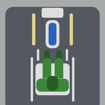 車いすから移乗しやすい、バリアフリートイレ