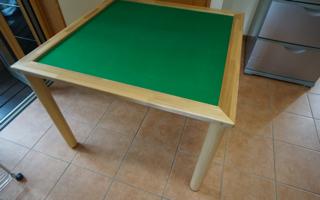 車いすで遊べる「マージャン卓」を製作しました