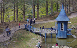 スナフキンの水浴び小屋:ムーミン谷