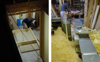 大滝建築事務所は、木工事を大切にしています