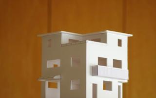 街角に建つ3階建て:コンセプト